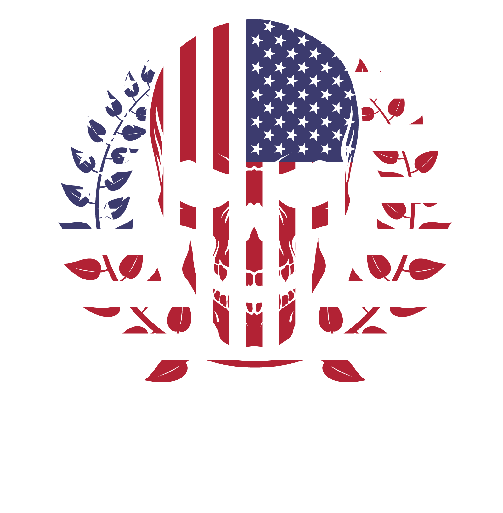 Made In USA Skull